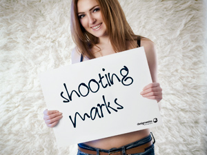 shooting marks